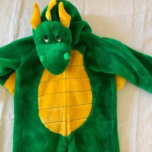 Furry Warm Dragon Costume Ages 2-4